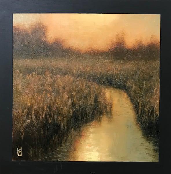 Sold   Wetland Series 2019 #7 Art   Michael Orwick Arts LLC
