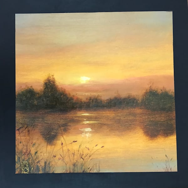 Wetland Series 2019 #8   Sold Art   Michael Orwick Arts LLC