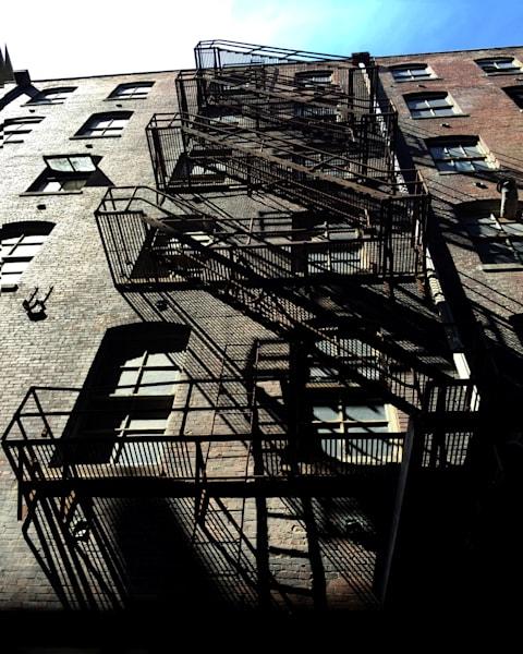 fire escape, kansas city, west bottoms