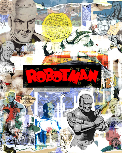 robotman, golden age DC comics, All-Star Squadron.