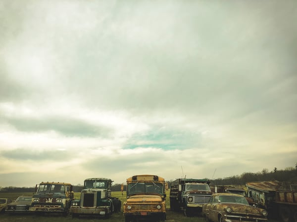 Junk In A Row Photography Art by johnknell