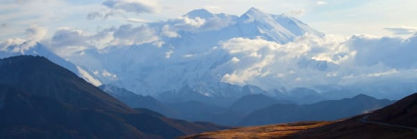 Mt. Denali, is a stunning view within Alaska/ Shop fine art photography by An Artist's View Photography
