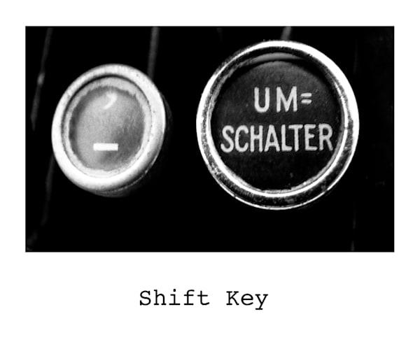 German Vintage Typewriter Key Photography Art   TONYGRIDERIMAGES.COM