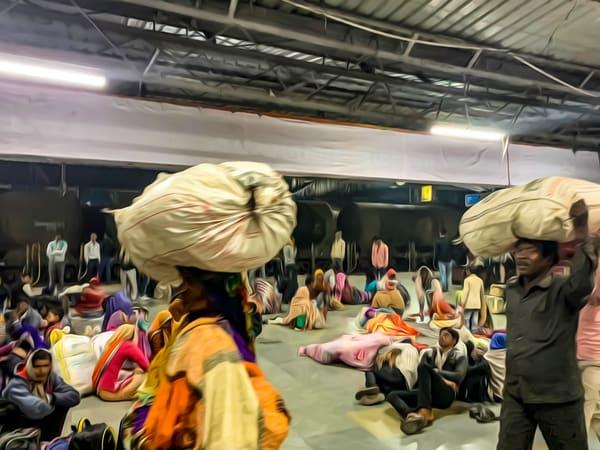 Train Station India