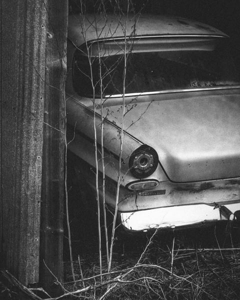 Old Car Still Life  Photography Art by johnknell