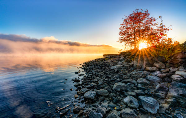 Morning Solitude Photography Art | Trevor Pottelberg Photography