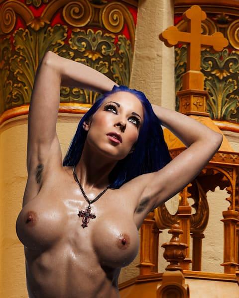 Nicole - Fine Art Nude Print by Christopher Gatelock