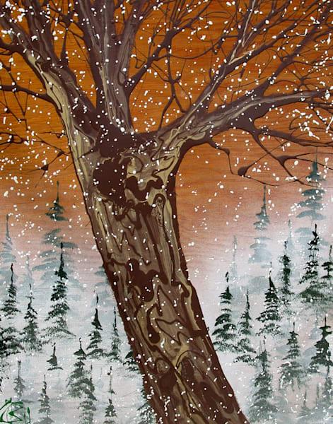 First Snowfall  Art | buchanart