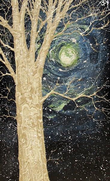 Midnight Moonglow Art | buchanart