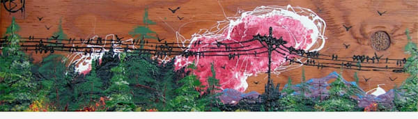 Electric Mountain Art | buchanart