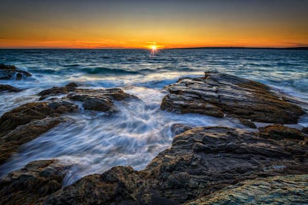 Sunset on Narragansett Bay   Shop Photography by Rick Berk