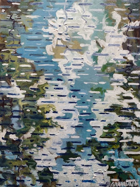 Pond Reflection by Mark Granlund