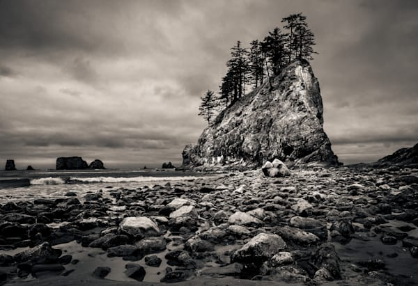 Pinnacle Second Beach Olympic National Park-Edit