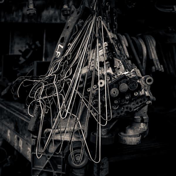 Scrap Yard Wire Hangers And Parts Photography Art | Dan Katz, Inc.
