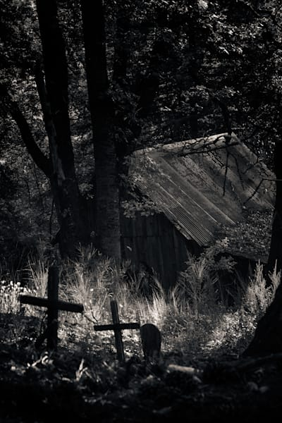 Forgotten Graves Nevada City 2 Photography Art | Dan Katz, Inc.