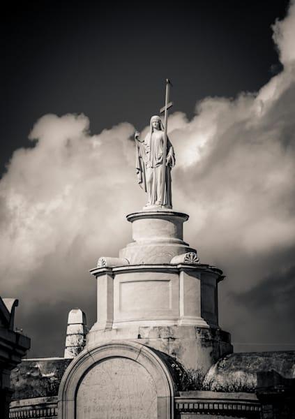 Holy Angel Metarie Cemetery New Orleans 2017 Photography Art | Dan Katz, Inc.
