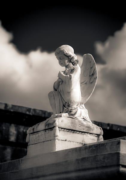 Little Angel Metarie Cemetery New Orleans 2017 Photography Art | Dan Katz, Inc.