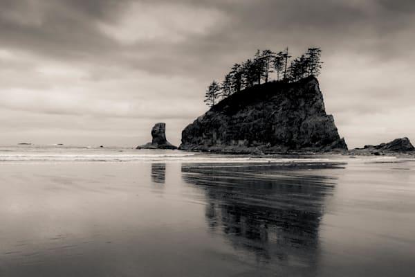 Ship Rock Second Beach Olympic National Park Photography Art | Dan Katz, Inc.