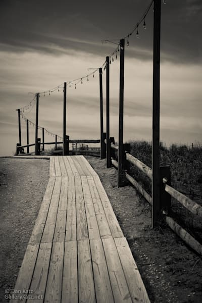 """Walkway to the Shore - Altantic City 2018"" by Dan Katz  Visit www.GalleryKatz.net #AtlanticCity #DanKatz #Monochrome #GalleryKatz #Boardwalk #CreativePhotography"