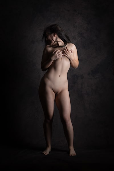 Lavia Nude Standing Photography Art | Dan Katz, Inc.