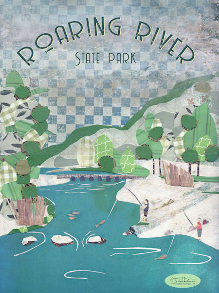 Roaring River State Park Art | Jenny McGee Art