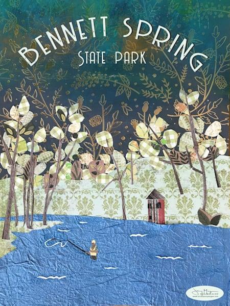 Bennett Spring State Park Art | Jenny McGee Art