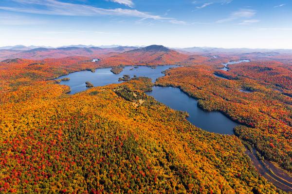 Blue Mt Lake and Eagle Fall