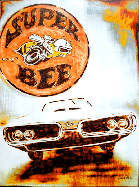 """Super Bee"" Art 