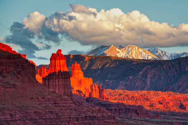 Fisher Towers At Last Light Photography Art | ePictureGallery
