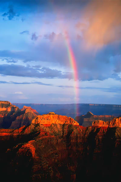 Rainbow Over Grand Canyon Photography Art   ePictureGallery