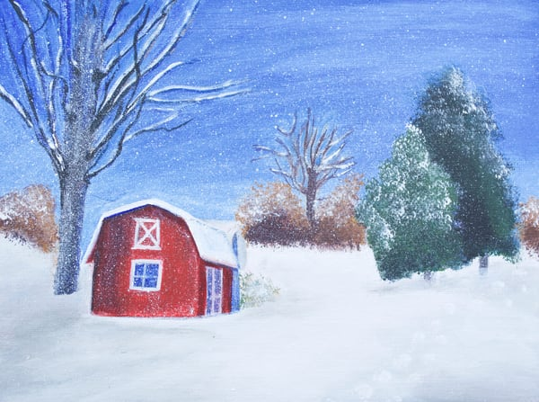 Winter Holiday Art | Marie Art Gallery