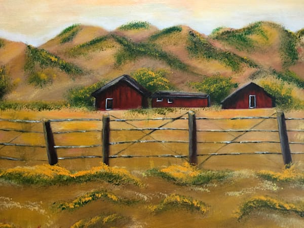 Red Barns Art | Marie Art Gallery
