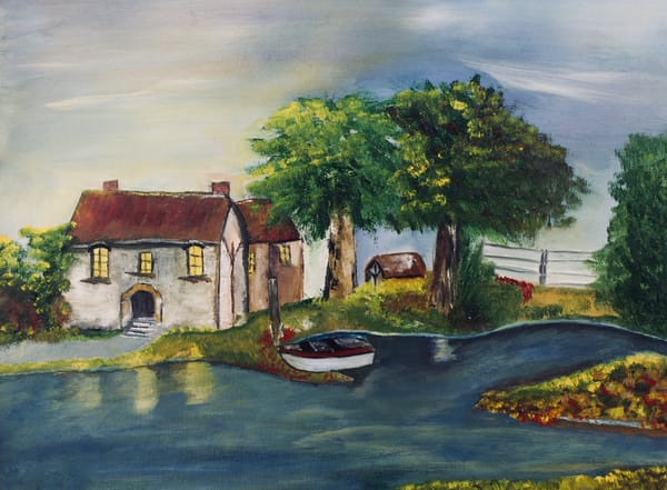 Summer Cottage Art | Marie Art Gallery