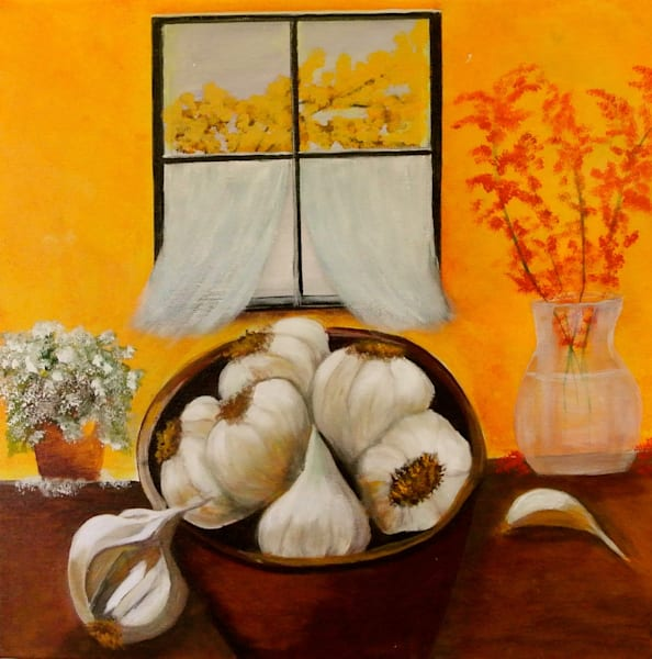 Stinking Rose Art | Marie Art Gallery
