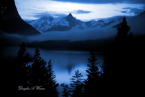 Mt Glacier blue hour