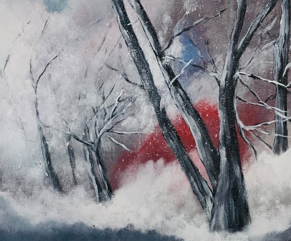 Cold Winter Day Art | Marie Art Gallery