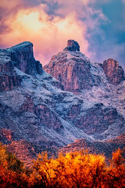 Catalinas Snow 2019 01 02 027 Photography Art | Carol Brooks Parker Fine Art Photography