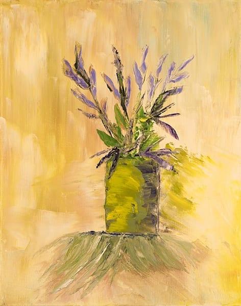 Purple Flowers Art | Marie Art Gallery