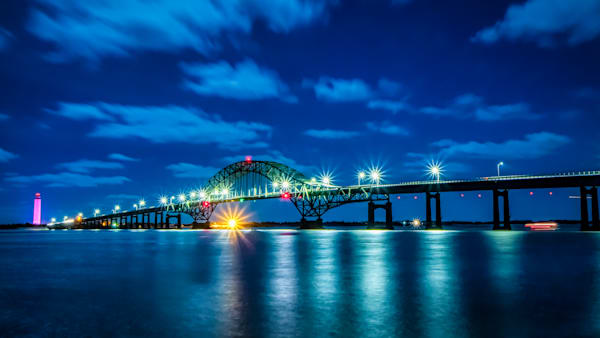 """""""Blue Night Photograph for Sale as Fine Art by John Scala"""