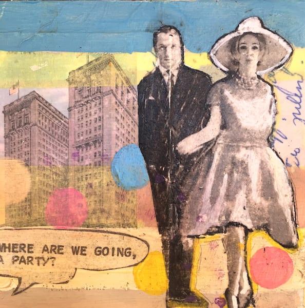 Where's The Party Art | memoryartgirl