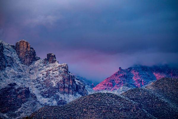 Catalinas Snow 2019 01 02 087 Photography Art | Carol Brooks Parker Fine Art Photography