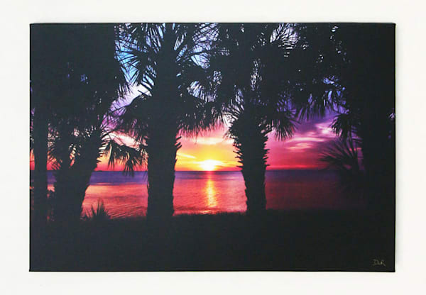 """Suncoast Sunset"" - Gallery Wrapped"