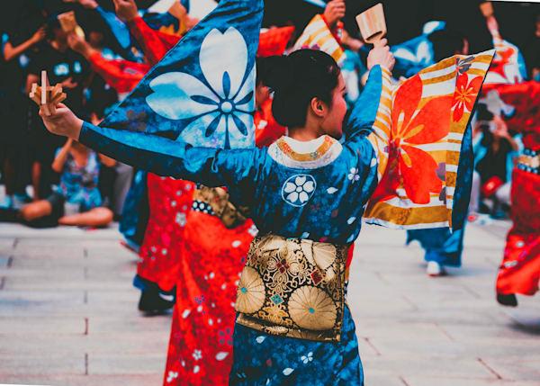 Yosakoi Festival Dance Japan