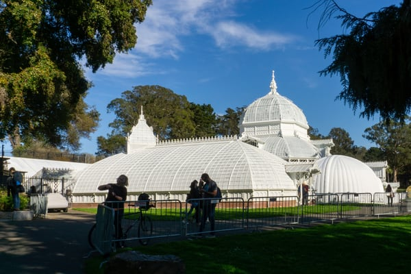 Conservatory of Flowers, Golden Gate Park, San Francisco, CA