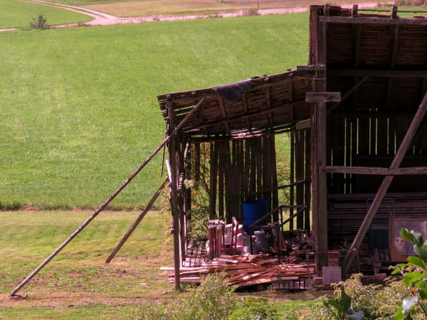 Farmer Ingenuity, Barn, Braunlingen, Germany
