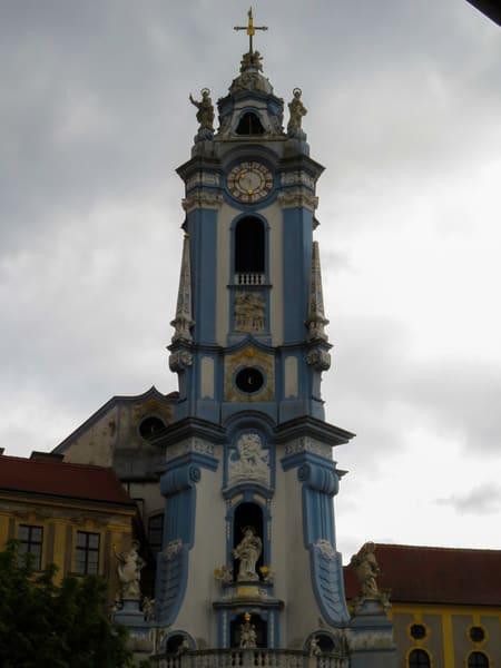 Blue Tower, Church Tower, Durnstein, Wachau Valley, Austria