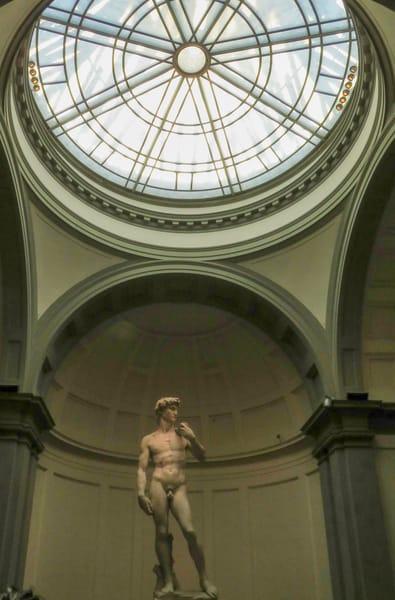 Michelangelo's David in Rotunda