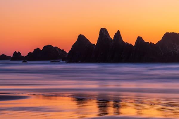 A Beautiful Sunset at Seal Rock