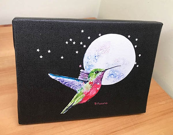 Come Fly with Me Mini Canvas