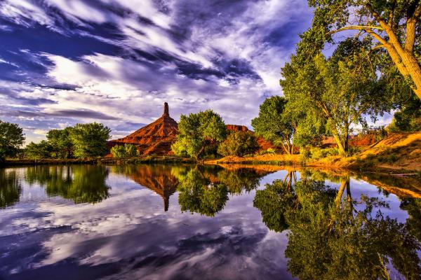 Castle Rock Reflection